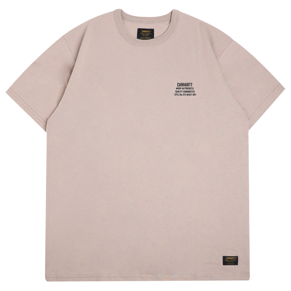Carhartt WIP Seth S/S Tee | Ginger Snap - CROSSOVER