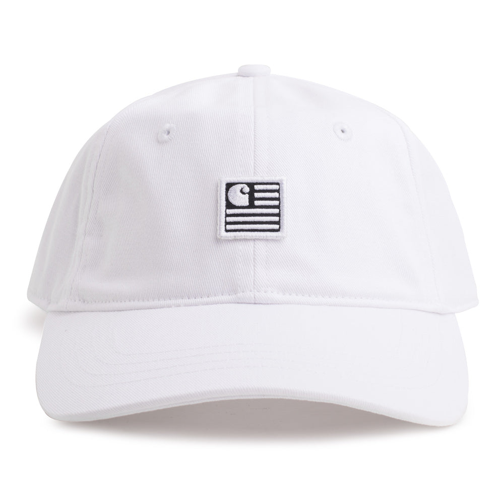Carhartt WIP State 6-Panel Cap | White - CROSSOVER
