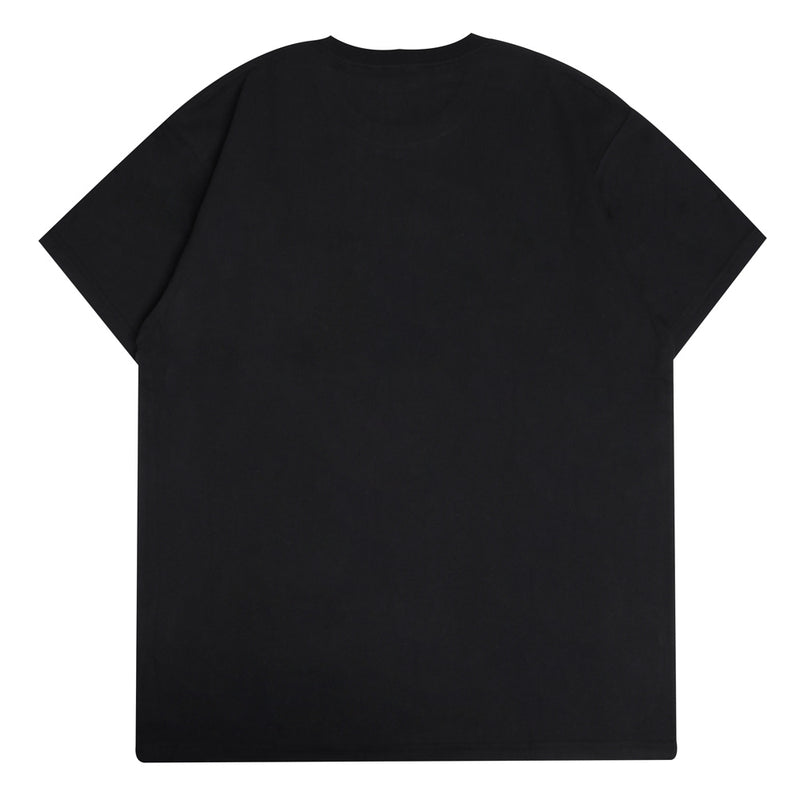 Carhartt WIP State Flag Pocket Tee | Black - CROSSOVER