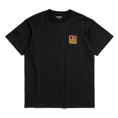 Carhartt WIPState Gradient S/S Tee | Black - CROSSOVER
