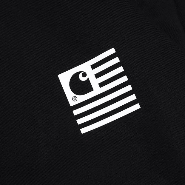 Carhartt WIP State Patch Sweatshirt | Black - CROSSOVER