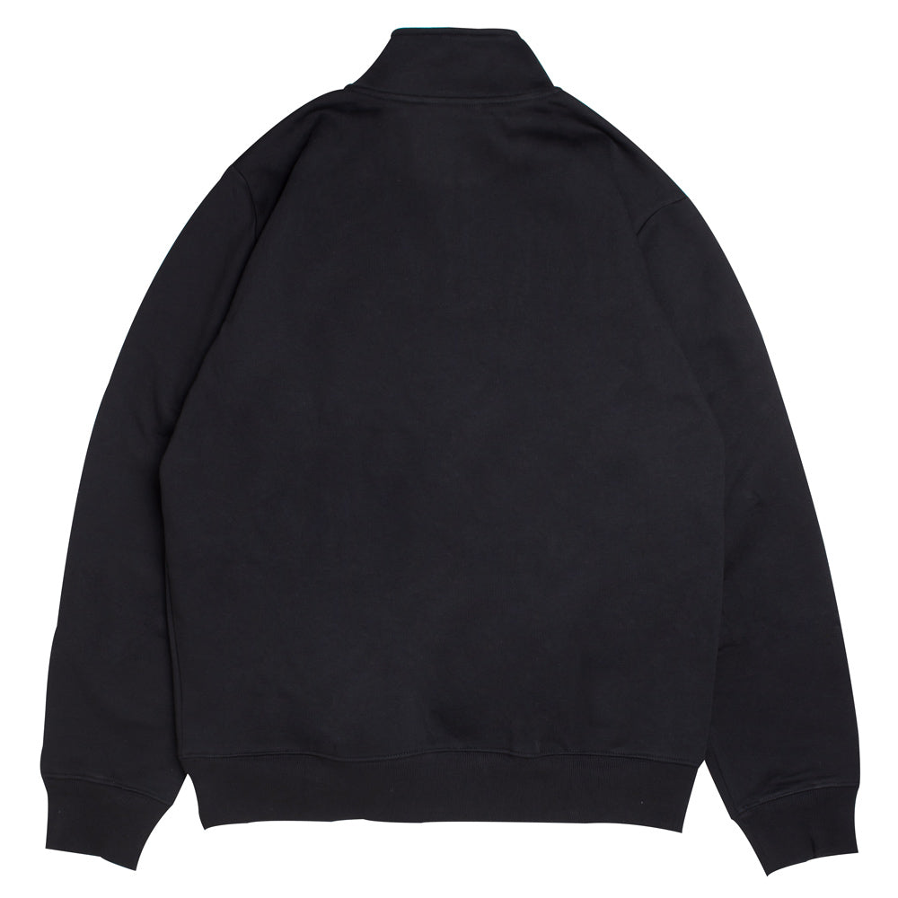 Carhartt WIP Team Script Half Zip Sweat | Black - CROSSOVER