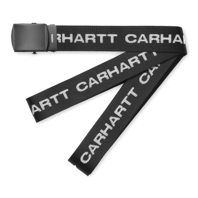 Carhartt WIPText Belt | Black - CROSSOVER