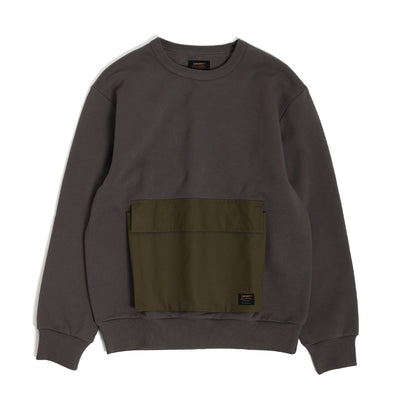 Carhartt WIPTristan Sweatshirt | Air Force Grey - CROSSOVER