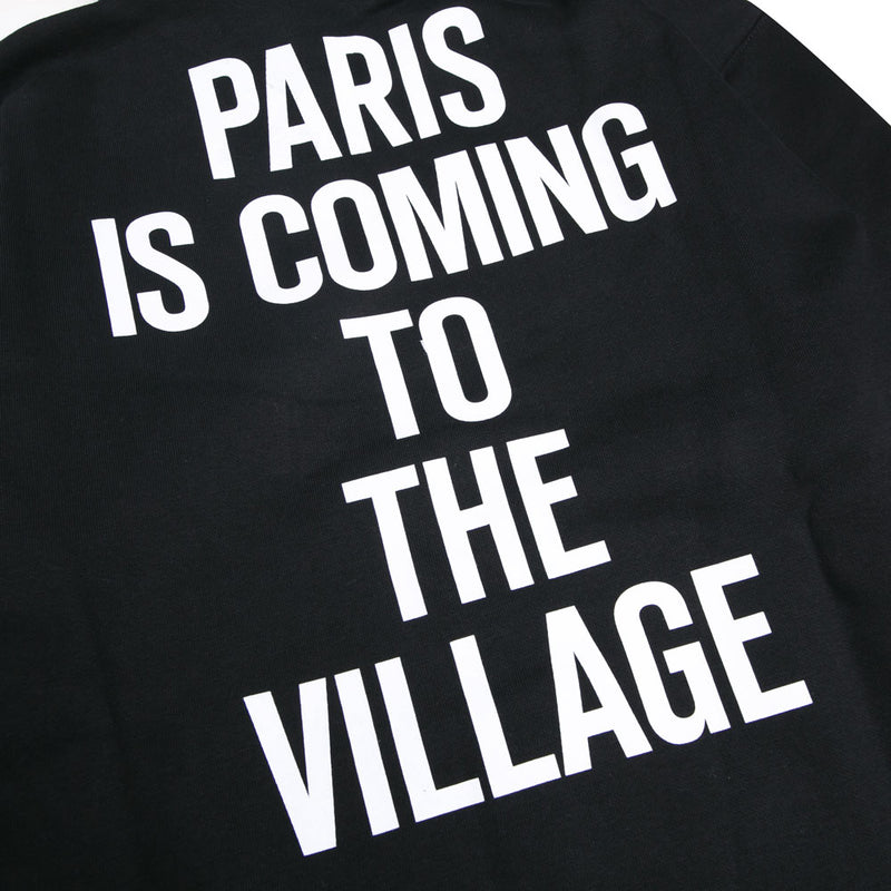 Carhartt WIP Hooded TVC Paris Sweatshirt | Black - CROSSOVER