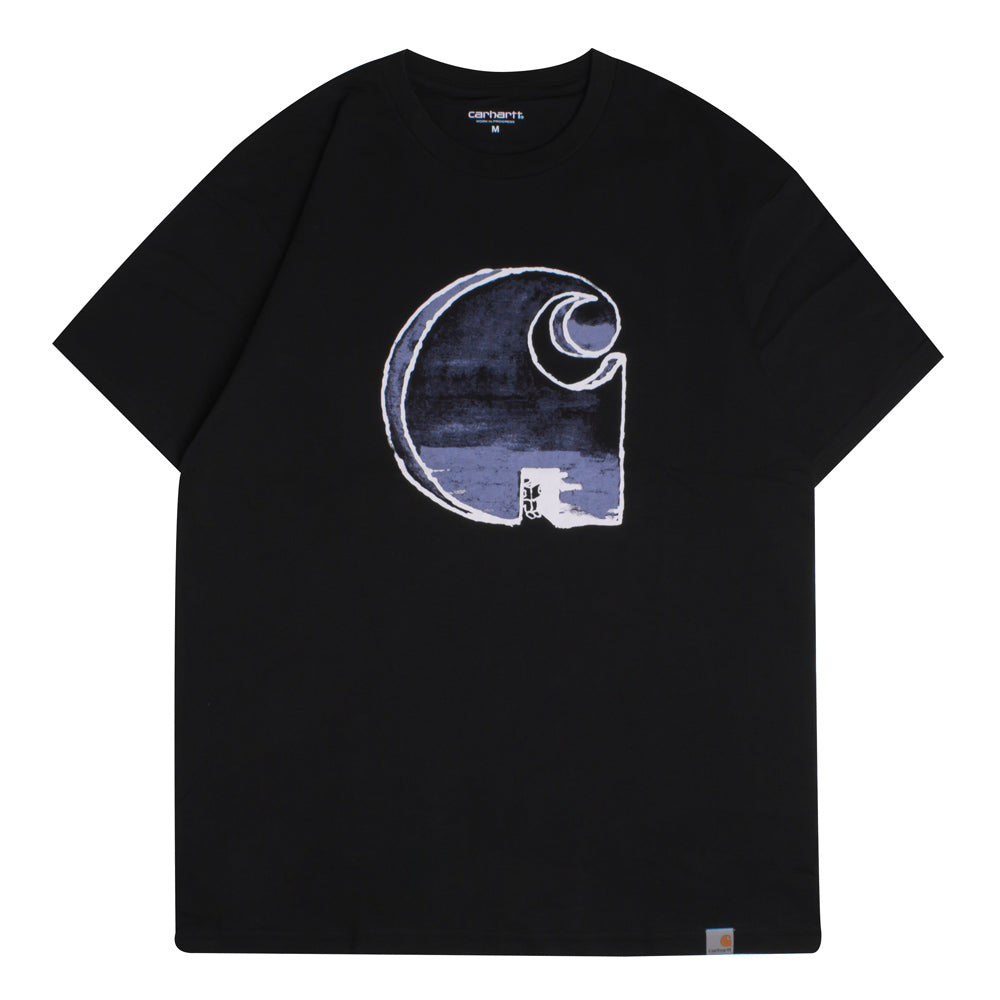 Carhartt WIP Way Through Tee | Black - CROSSOVER ONLINE