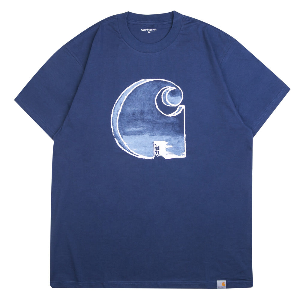 Carhartt WIP Way Through Tee | Blue - CROSSOVER ONLINE