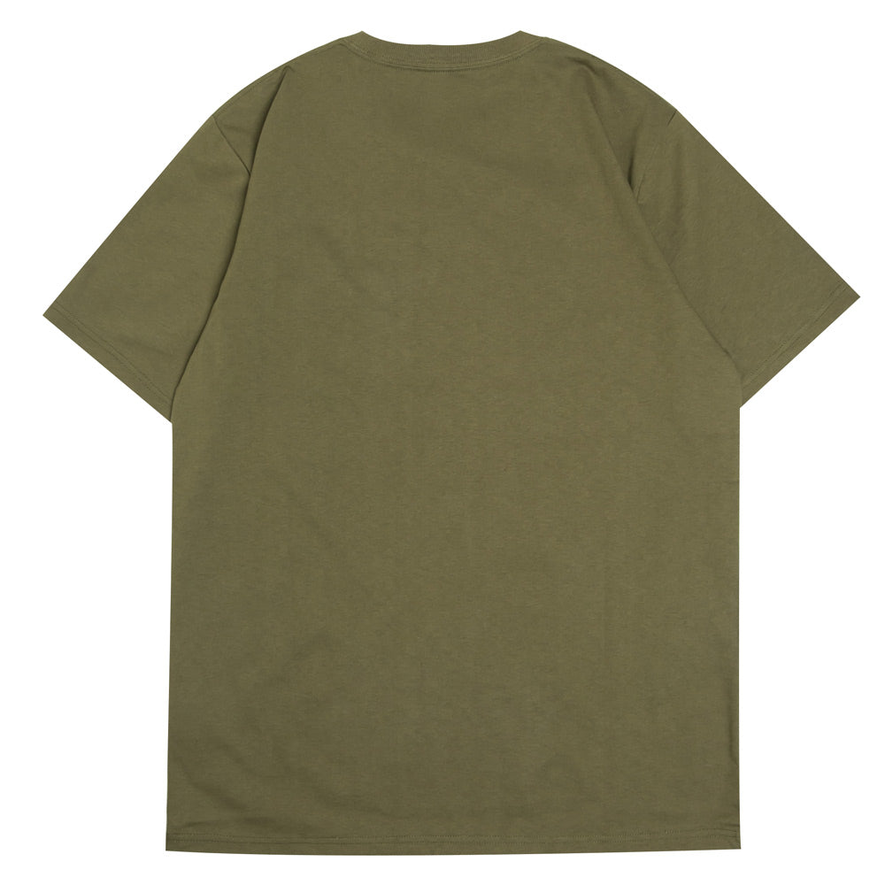 Arch Logo Pocket Tee | Green
