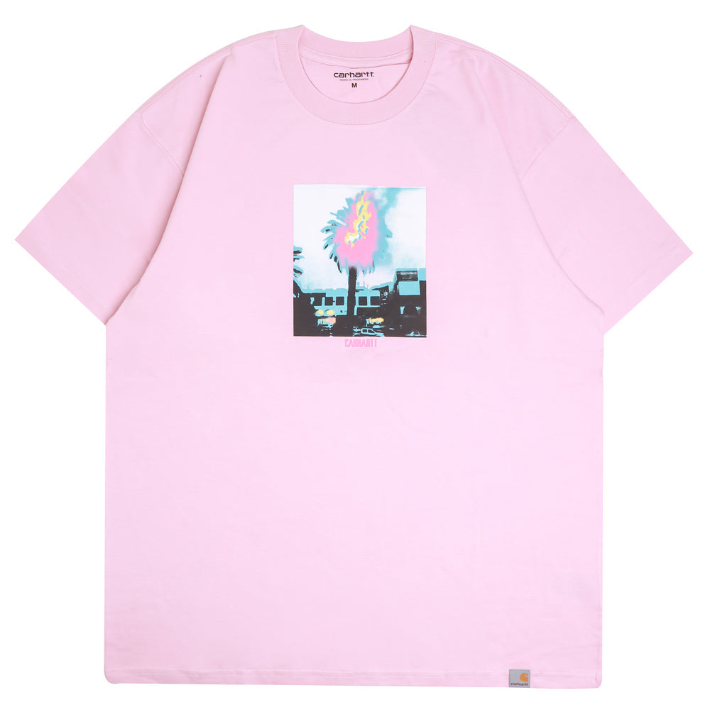 Carhartt WIP Burning Palm Tee | Cadillac - CROSSOVER