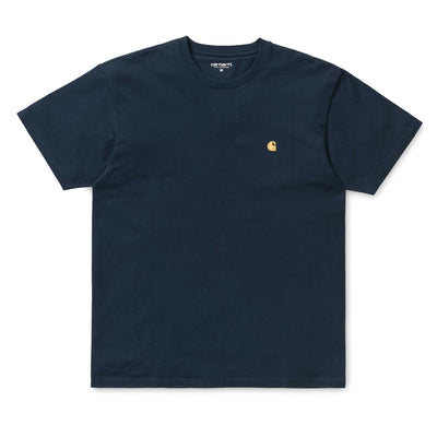 Carhartt WIPChase Tee | Duck Blue - CROSSOVER