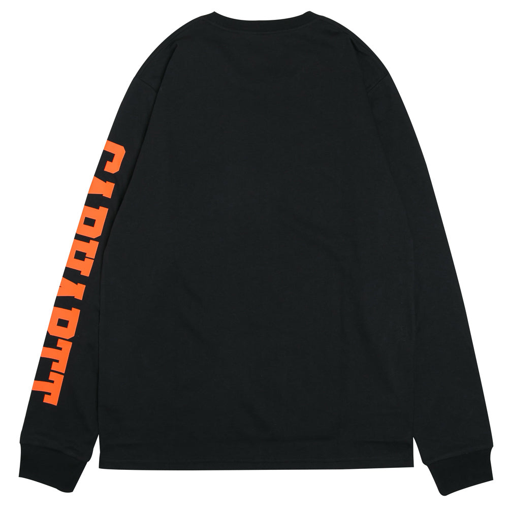 College Left L/S Tee | Black