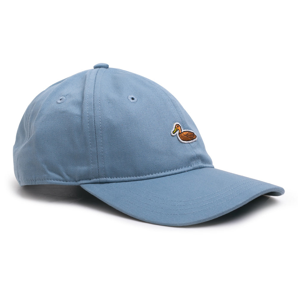 Carhartt WIPDuck 6 Panel Cap | Dusty Blue - CROSSOVER ONLINE