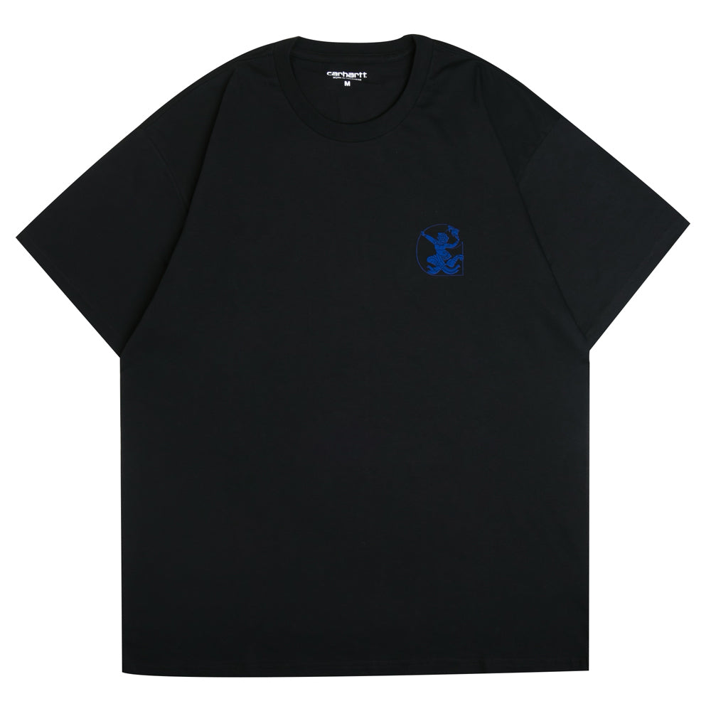 Carhartt WIP High Kicks C Tee | Black - CROSSOVER ONLINE