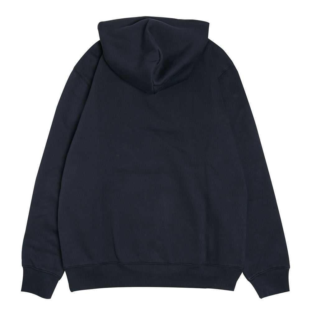 Hooded Oval Sweatshirt | Navy