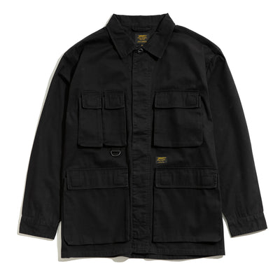 Leroy LS Shirt | Black