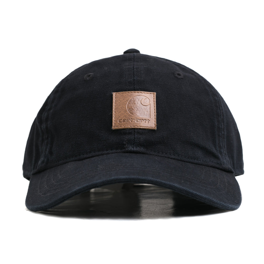 Logo 6 Panel Cap | Black