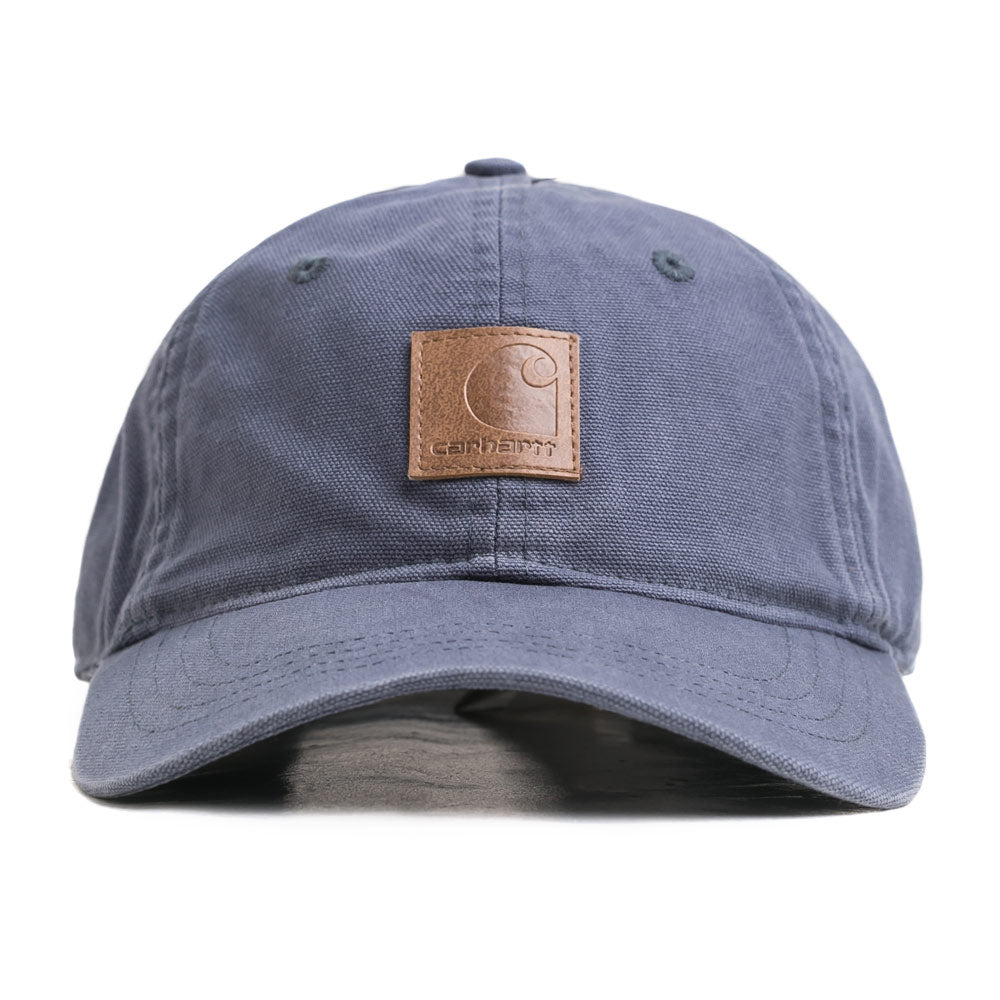 Carhartt WIP Logo 6 Panel Cap | Stone Blue - CROSSOVER ONLINE