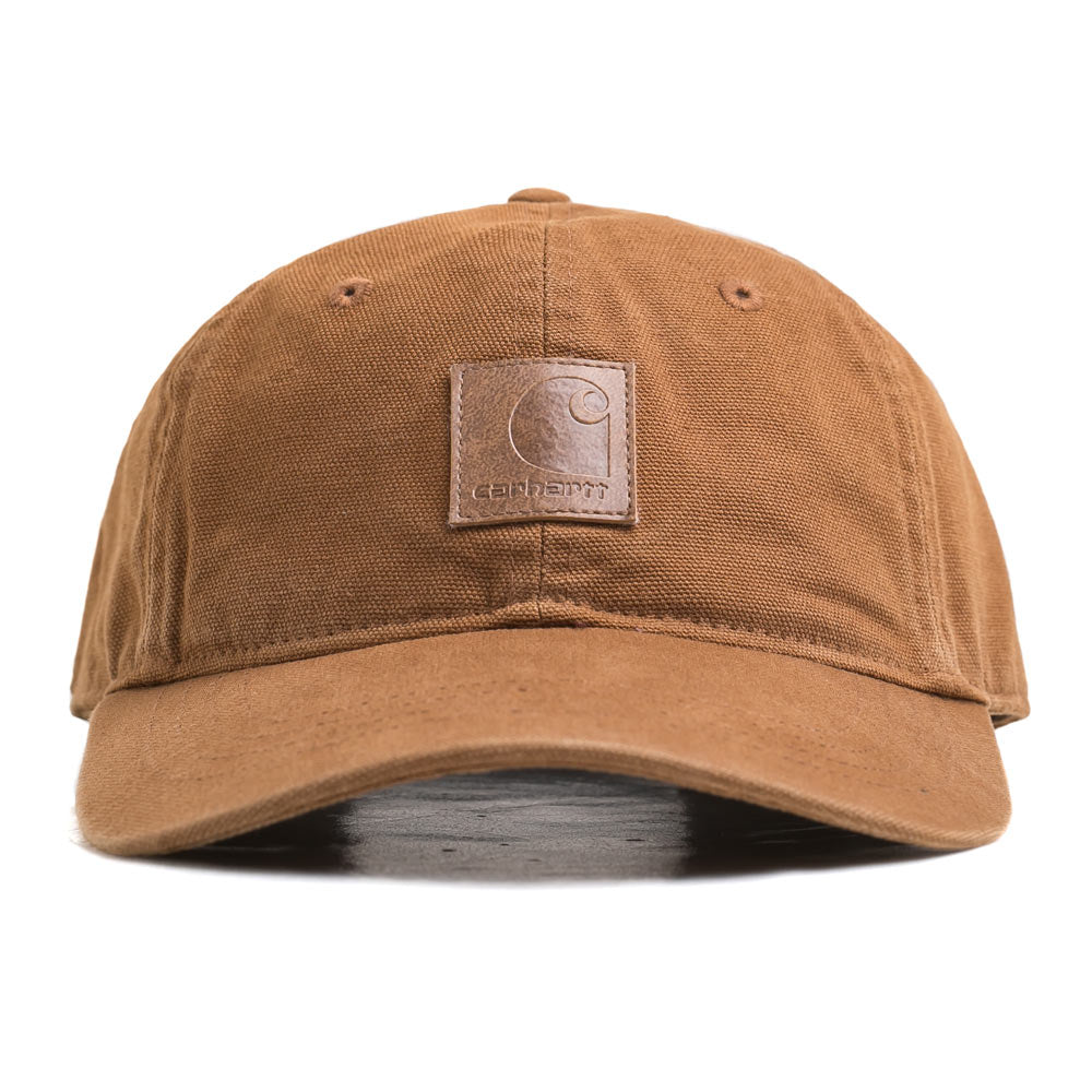 Logo 6 Panel Cap | Hamilton Brown