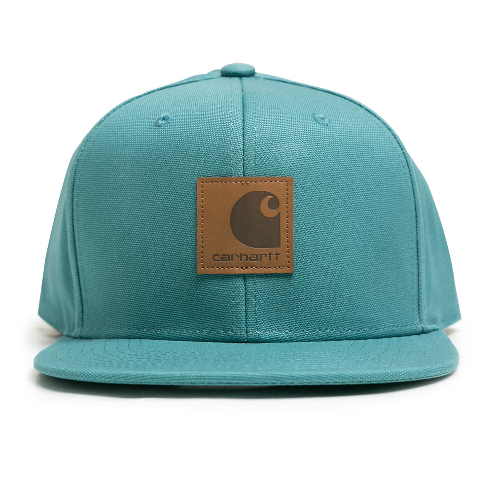 Carhartt WIP Logo Cap | Soft Teal - CROSSOVER ONLINE