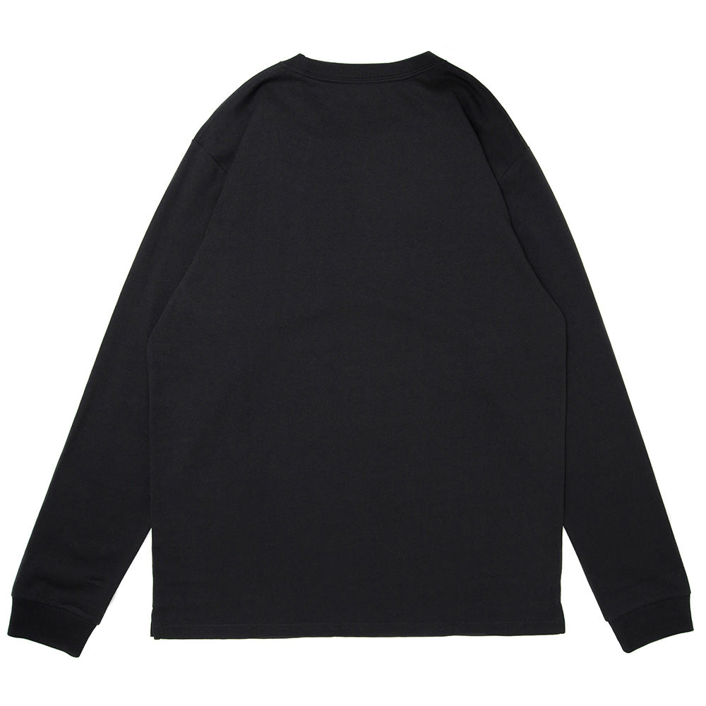 Carhartt WIP L/S Pocket Loose Tee | Black - CROSSOVER ONLINE