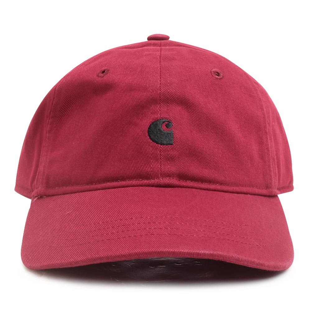 Carhartt WIP Madison Logo Cap | Mulberry - CROSSOVER