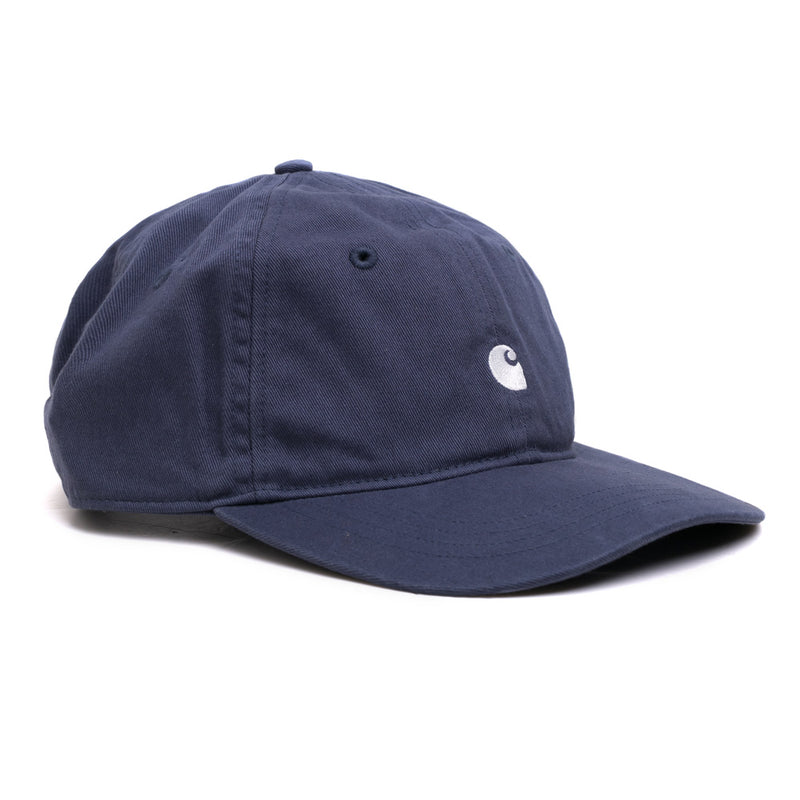 Carhartt WIP Madison Logo Cap | Stone Blue - CROSSOVER ONLINE