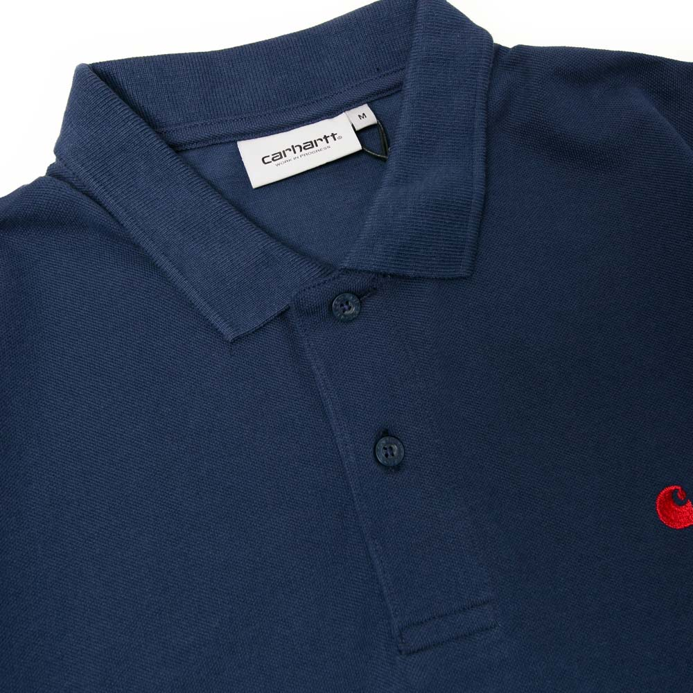 S/S Madison Polo | Blue
