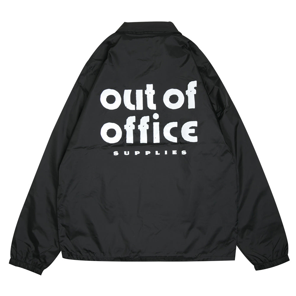 Out Of Office Coach Jacket | Black