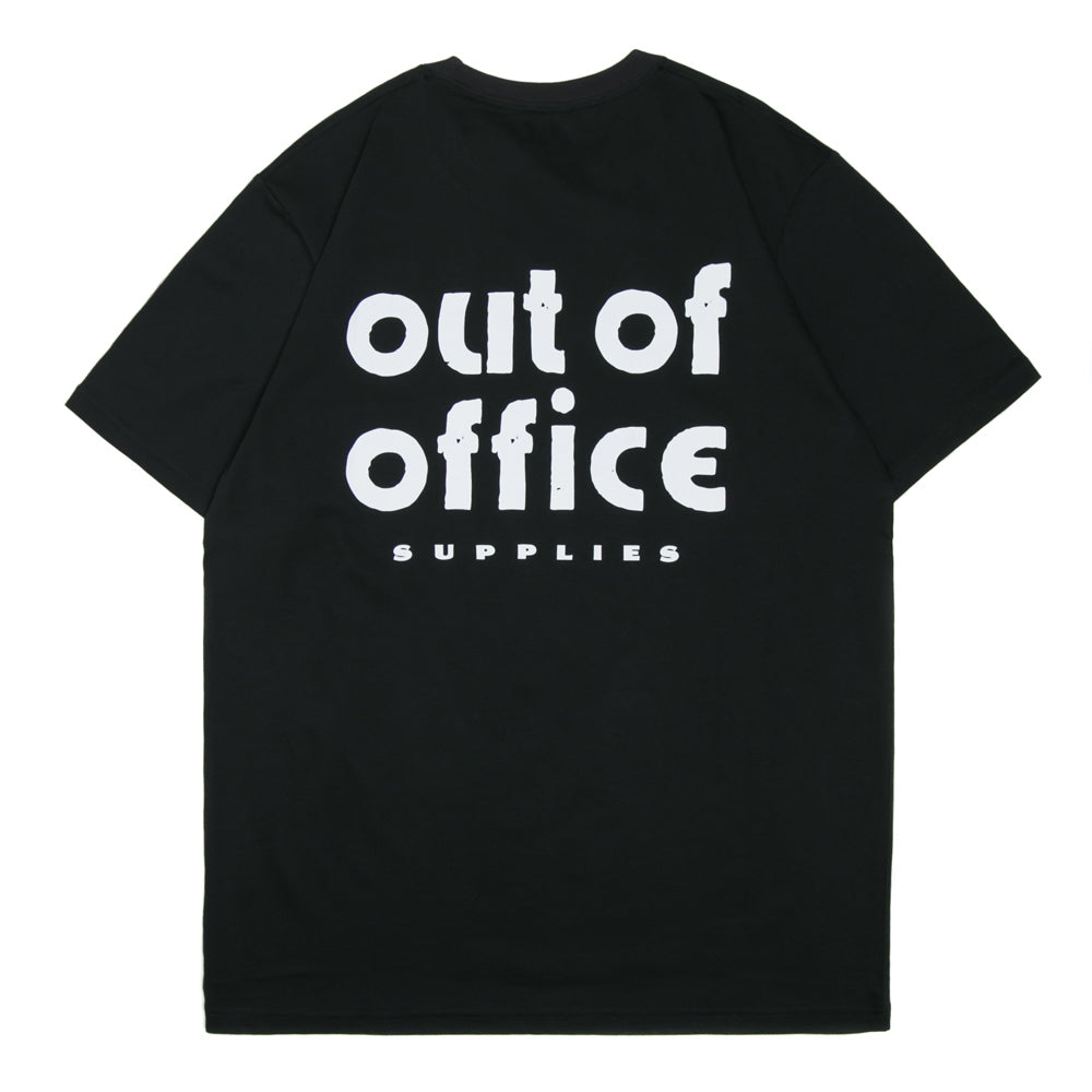 Carhartt WIP Out Of Office Tee | Black - CROSSOVER ONLINE