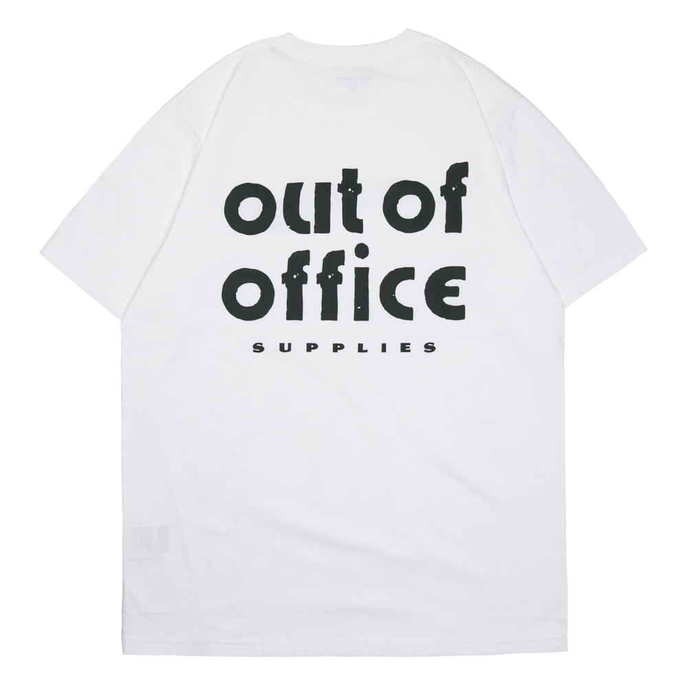Out Of Office Tee | White