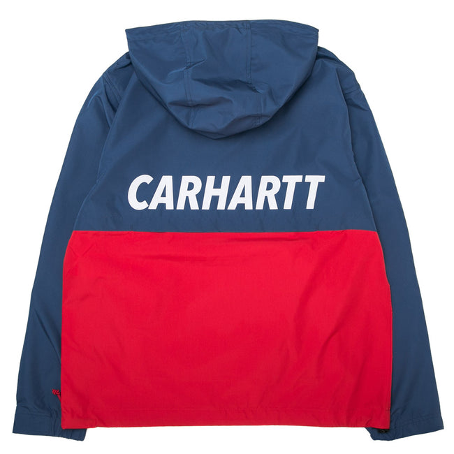Retro Sport Pullover | Navy/Red