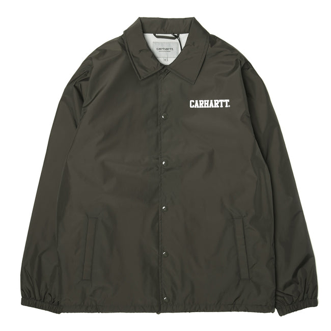 Script Coach Jacket | Green