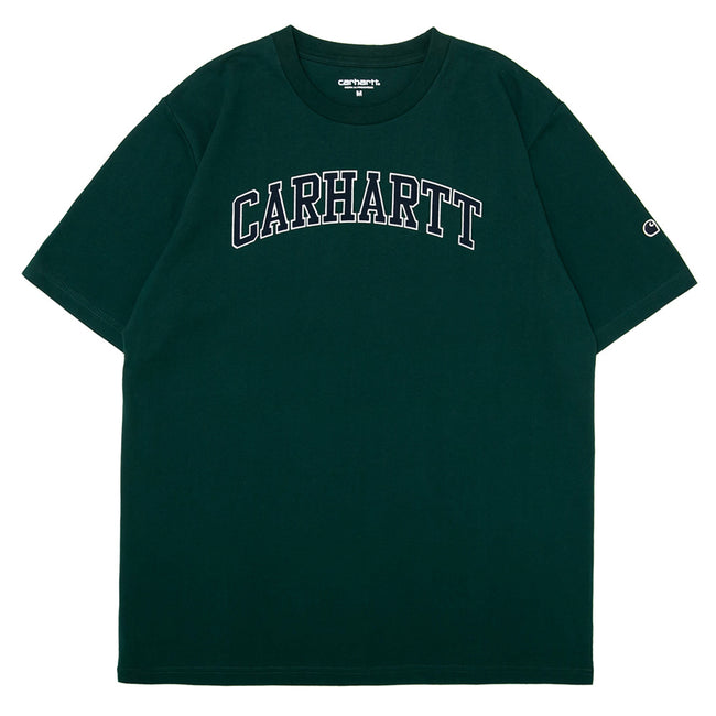 S/S Athletics Tee | Green/Navy