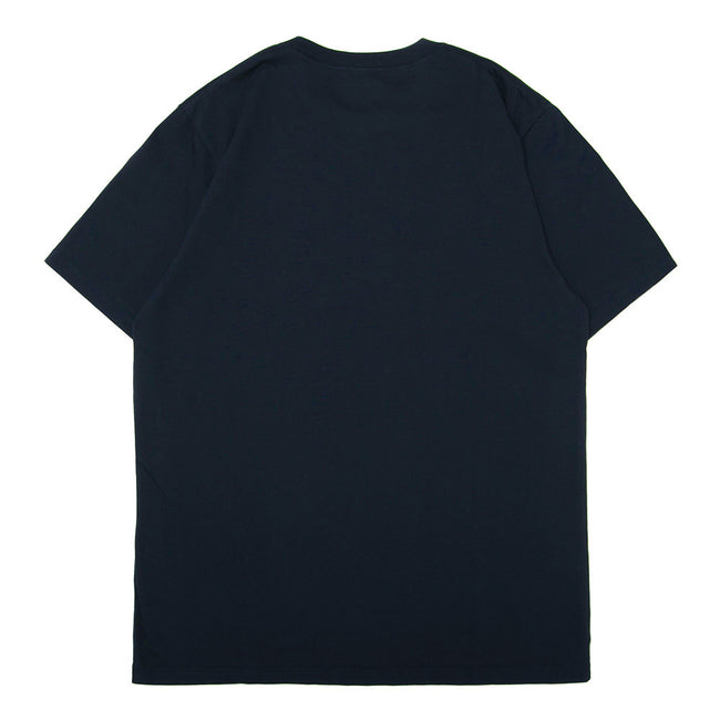 S/S Athletics Tee | Navy/Green