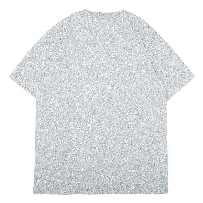 S/S College T-Shirt | Grey/Black
