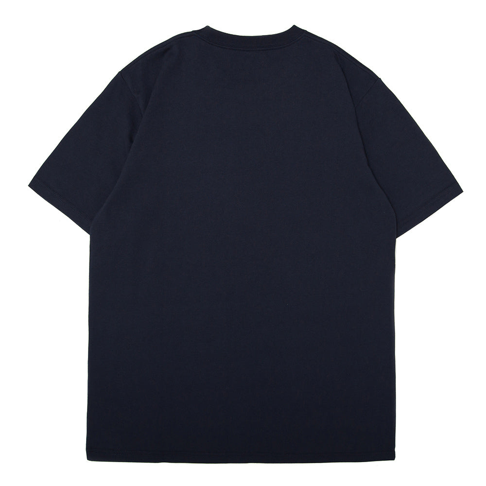 S/S College T-Shirt | Navy