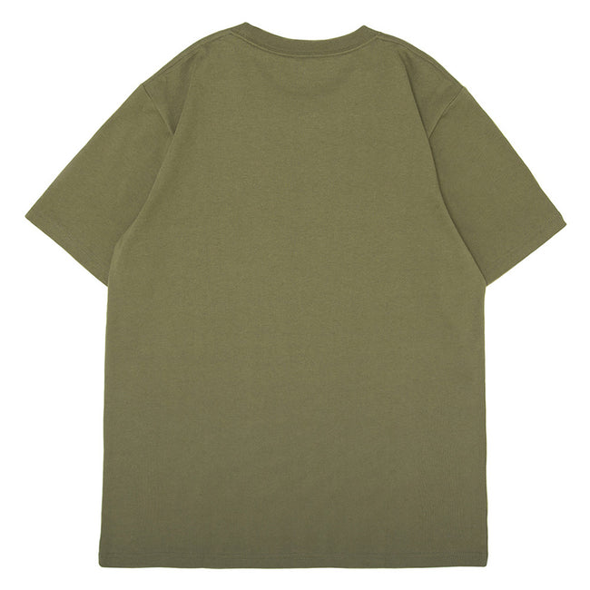S/S Pocket Loose Tee | Rover Green