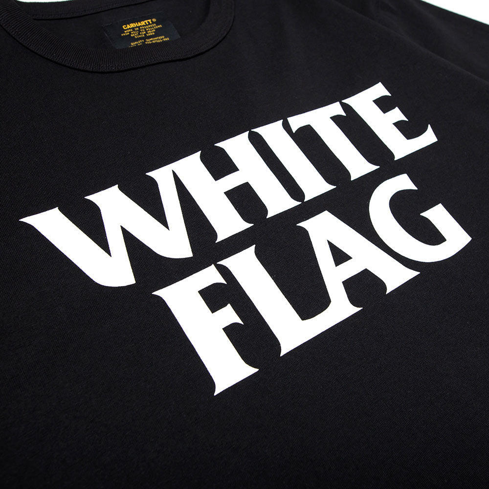 S/S Custer White Flag Tee | Black