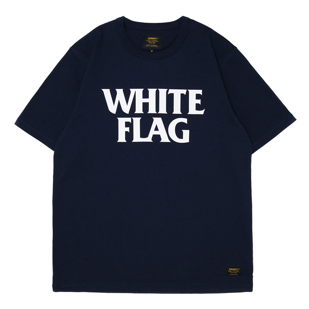 S/S Custer White Flag Tee | Navy