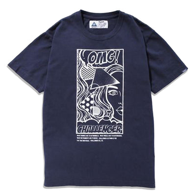 Challenger OMG! Tee | Navy - CROSSOVER