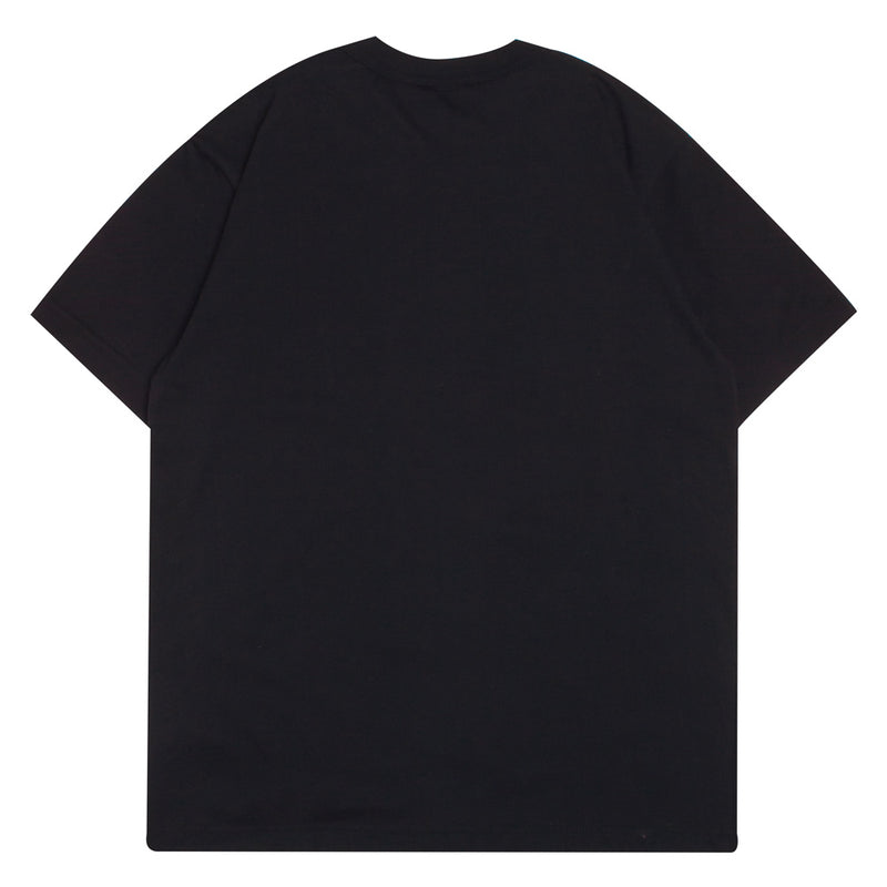Champion Basic logo Tee | Black - CROSSOVER