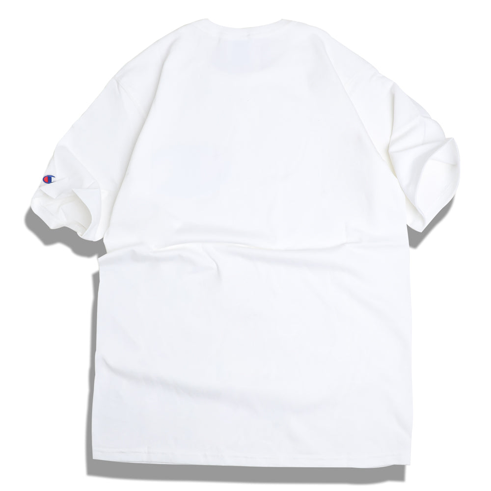 Champion C Applique Logo Tee | White - CROSSOVER