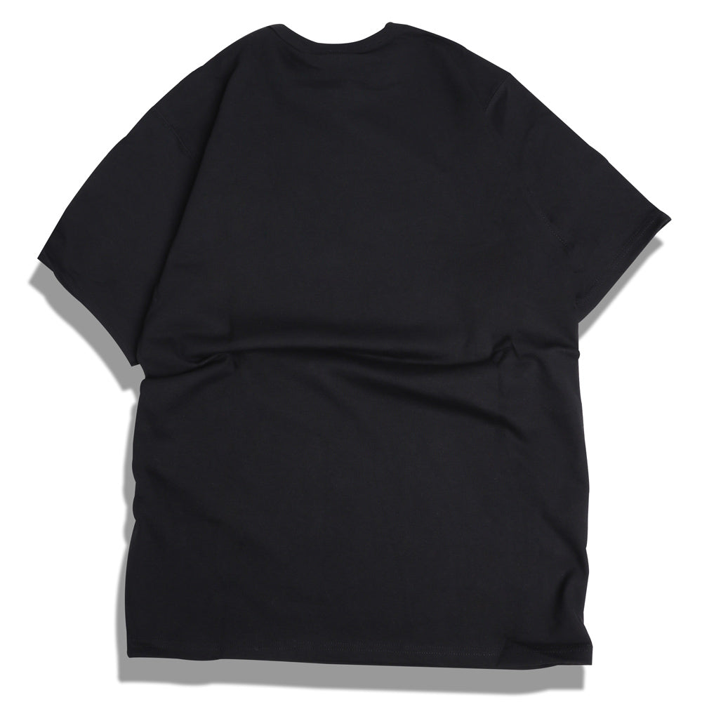 Champion Embroidered Script Logo Tee | Black - CROSSOVER