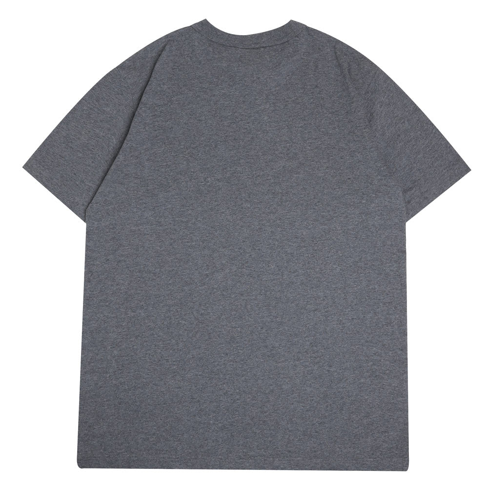 Champion Japan Small Logo Tee | Charcoal - CROSSOVER