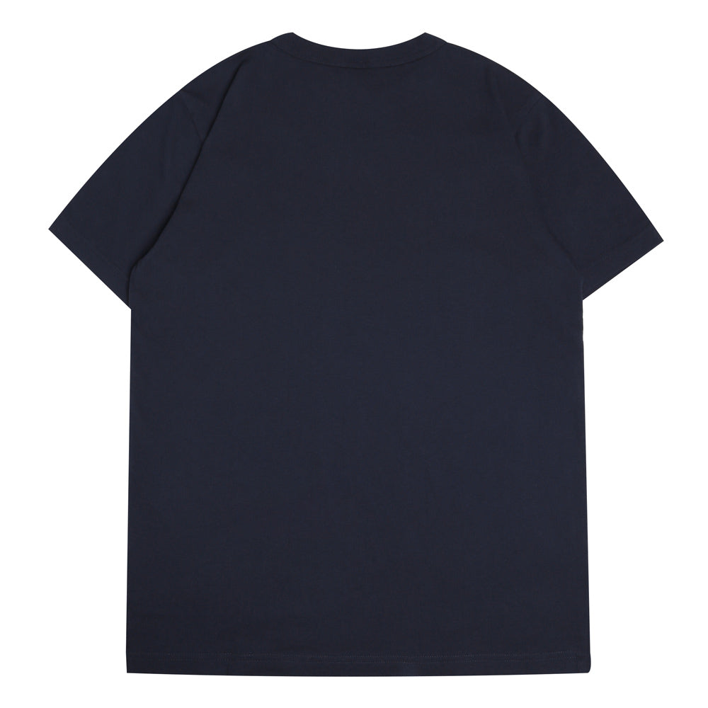 Champion Japan Small Logo Tee | Navy - CROSSOVER