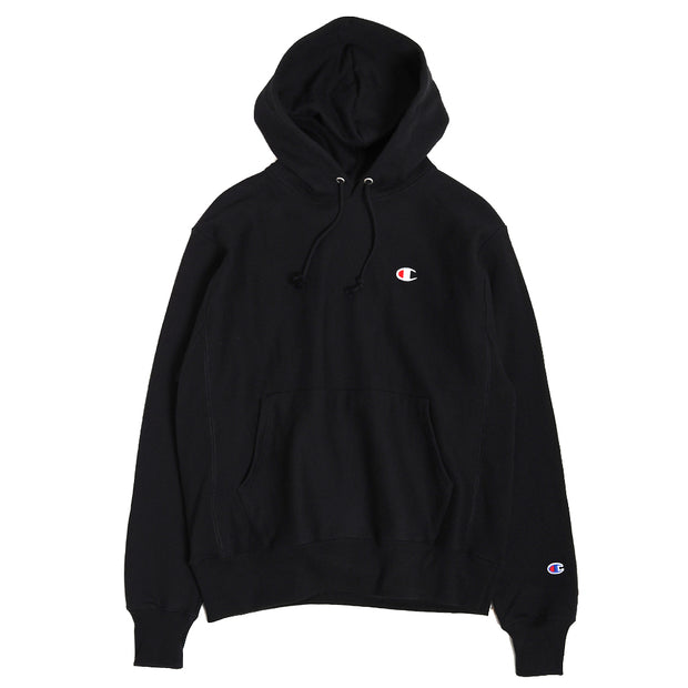 ChampionReverse Weave® Pullover Hoodie | Black - CROSSOVER