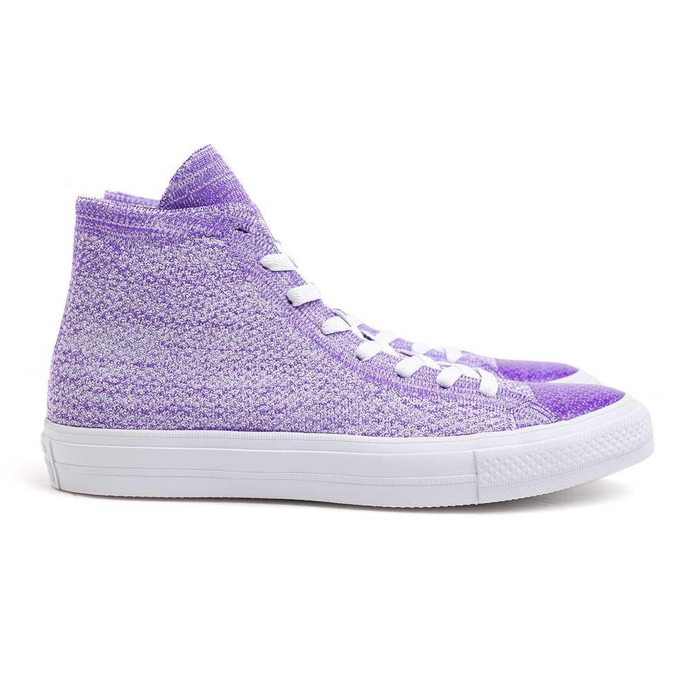 Chuck Taylor Flyknit Hi | Hyper Grape