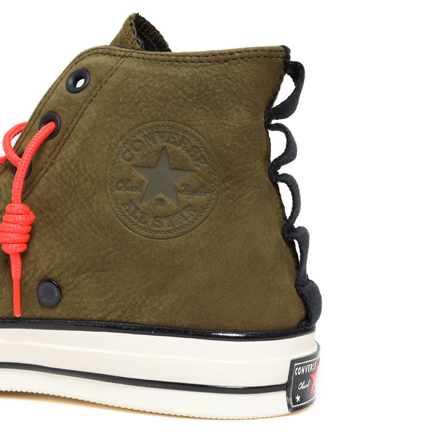 ConverseChuck 1970s Hi 'Nubuck Leather' | Olive - CROSSOVER