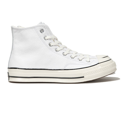 Chuck 1970s Leather Hi | White