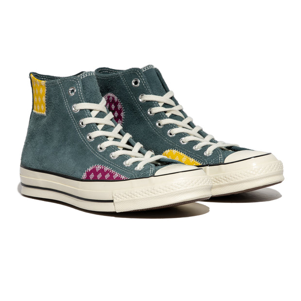 ConverseChuck 70 Twisted Prep Patchwork | Faded Spruce - CROSSOVER